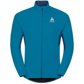 Odlo Aeolus Element Warm Jacket Men blue jewel-poseidon